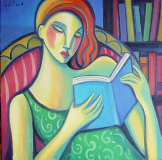 The reader by Guillermo Martí Ceballos