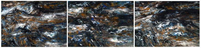 Triptych OF- 2 by Oleg Frolov