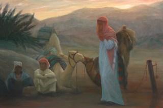 Camel talk Dahab Eqypt by Pip Todd Warmoth