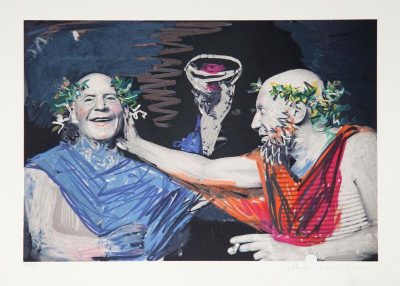 Photo Rehasse de Picasso et Manuel Pallar by Picasso Estate Collection