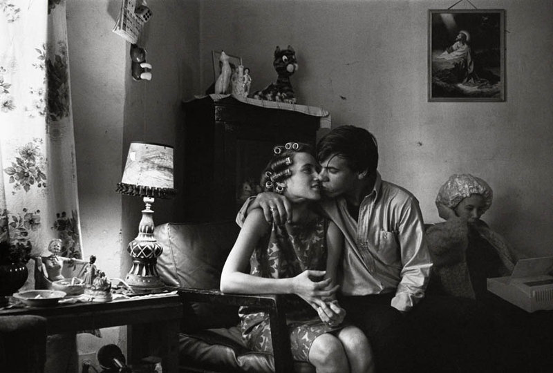 Inside Kathy's Apartment by Danny Lyon