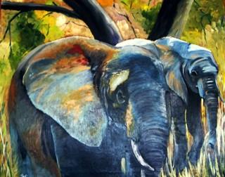 elefants al riu by MONTSE PARÉS FARRÉ