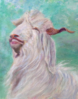 Goat 2 by Sylva Zalmanson