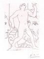 Sculpture d'un Jeune Homme a la Coupe by Pablo Picasso