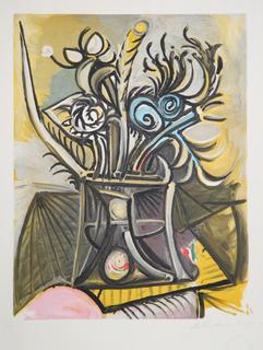 Le Bouquet (2-K) by Picasso Estate Collection
