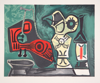 Mandoline, Cruche et Flacon by Picasso Estate Collection