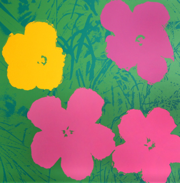 Flowers VII by Andy Warhol