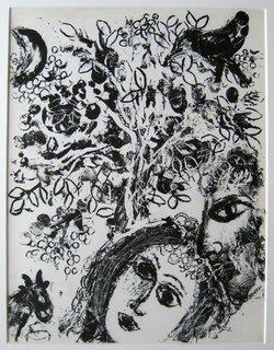 """Couple devant l""""Arbre by Marc Chagall"""