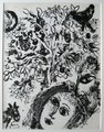 "Couple devant l""Arbre by Marc Chagall"