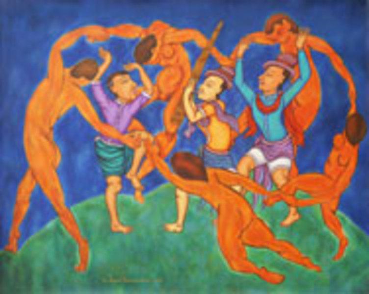 Celebrating Differences  (after H. Matisse) by Jirapat Tatsanasomboon