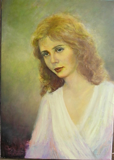 Young girl by Sylva Zalmanson