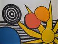 "Litografía ""Starburst"" de Alexander Calder de Alexander Calder"