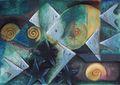 Wefts fish 9 by Rosario de Mattos