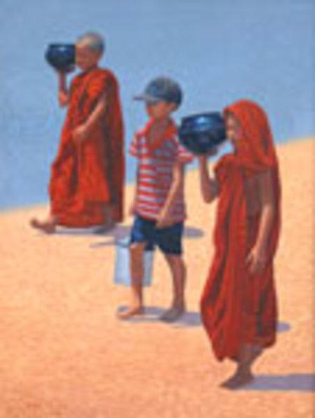 Little Helper (2) by Aung Kyaw Htet