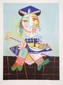 Fillette au Bateau by Picasso Estate Collection