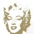 Golden Marilyn 5 by Andy Warhol