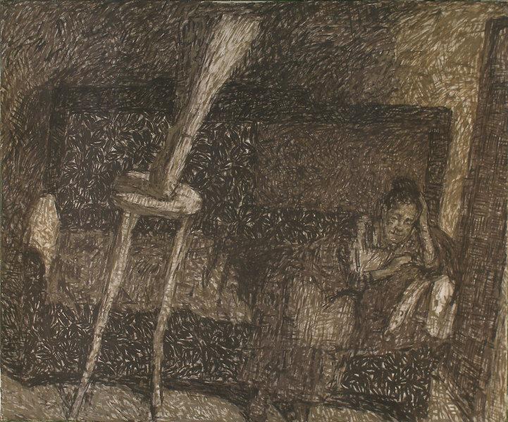 Old woman by Robert Nizamov