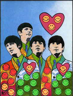 The Beatles moments series 16 - Have a happy love day by Marco Mark