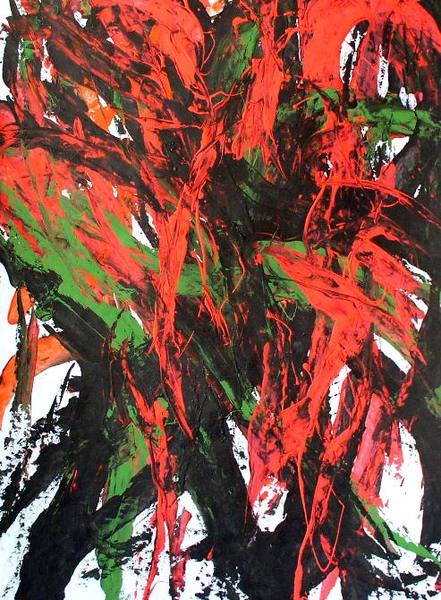 Abstract Painting OF-A112 by Oleg Frolov