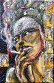 "Balanalinesa & nicotine by Thierry  ""Deth"" Delsart"