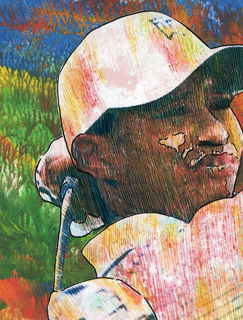 Tiger Woods by Marco Mark