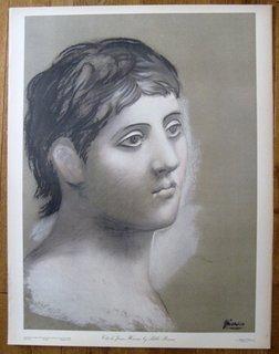 Tete de Jeune Homme by after Pablo Picasso