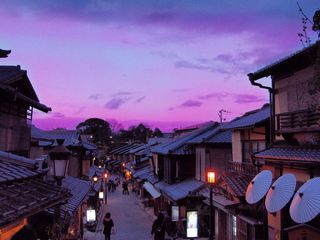 Serie Japan'10-11: Higashiyama evening, Kyoto by Sonia A. Alzola