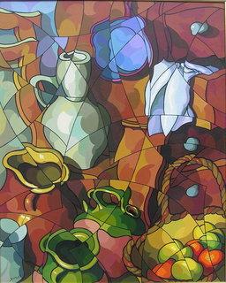 Bodegon by José Sanz Sala