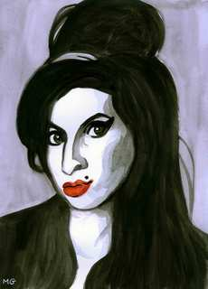 AMY WINEHOUSE by Menchu Gamero