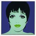 Andy Warhol - Retrato de Liza Minelli by Andy Warhol