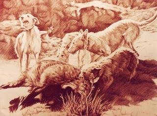 Hunting by Leopoldo Fernández
