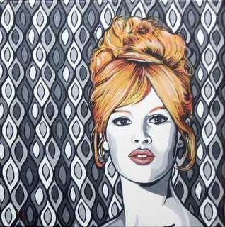 B.B. - Brigitte Bardot by Menchu Gamero