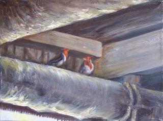 Cardinals by Rosario de Mattos