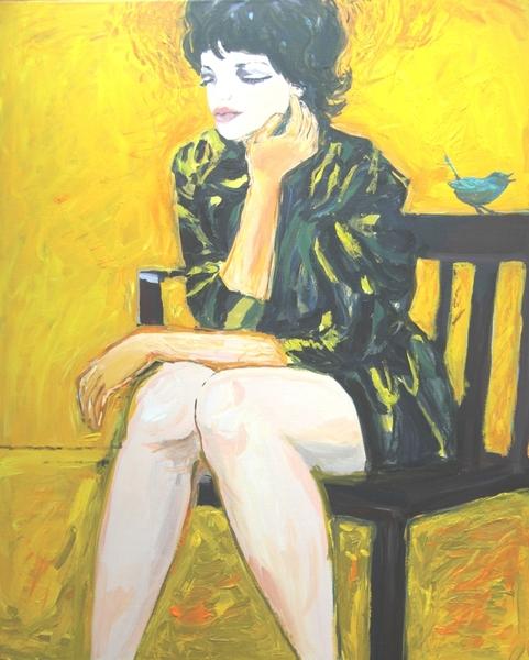 Bird on the Branch by Joanna Ewa Glazer