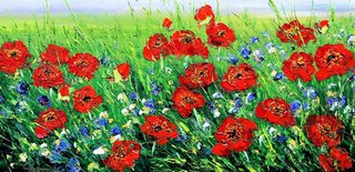 Poppies poppies by Anna Good