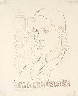 Jean le musicien by Juan Gris