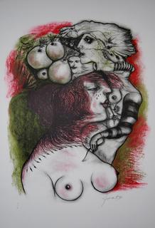 La Soberbia by Modest Cuixart