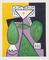 Femme en Vert et Mauve by Picasso Estate Collection