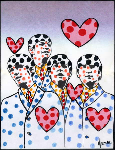 The Beatles moments series 15 - Dotty Love by Marco Mark