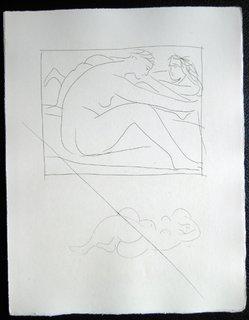 Deux femmes nues by Pablo Picasso