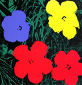Flowers VI by Andy Warhol