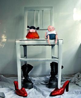 soldier's boots by Mariela Dimitrova MARA