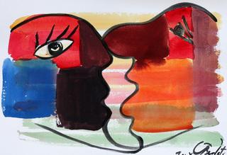 The kiss 43 by Jorge Berlato