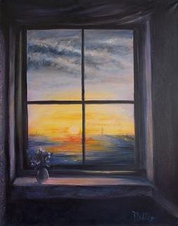 Window to the Sea by Rosario de Mattos
