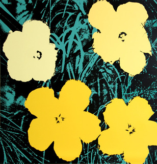 Flowers I by Andy Warhol