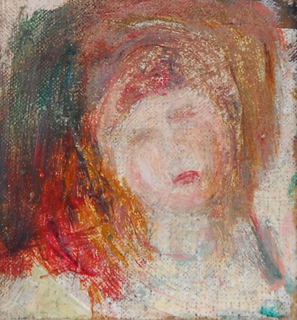 Etude de tête by Pierre Auguste Renoir