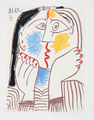 Visage II by Picasso Estate Collection