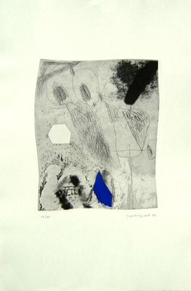 Temps i llum 4 by Josep Mª Guinovart