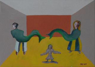Men siren by Ricardo Hirschfeldt