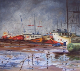 port of La Paloma 4 by Rosario de Mattos